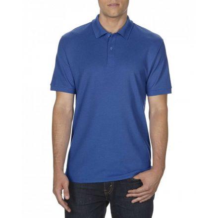Gildan DryBlend férfi póló dupla piké anyagból, royal