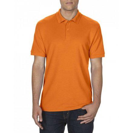 Gildan DryBlend férfi póló dupla piké anyagból, Safety Orange