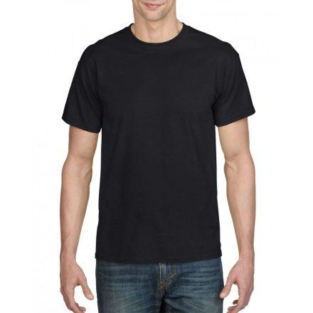 Gildan férfi dryblend póló, fekete