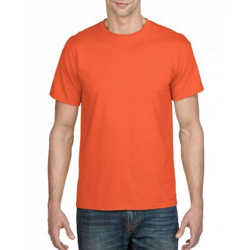 Gildan férfi dryblend póló, narancs