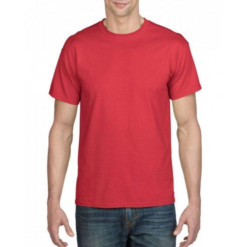 Gildan férfi dryblend póló, piros