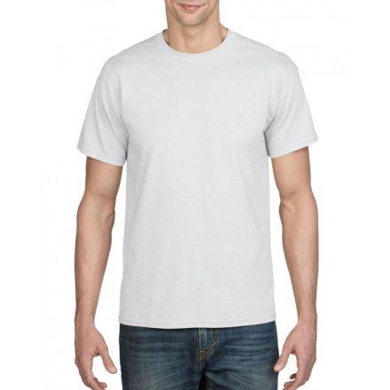 Gildan férfi dryblend póló, fehér