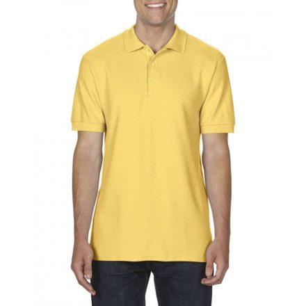 Gildan prémium férfi dupla piké póló, daisy