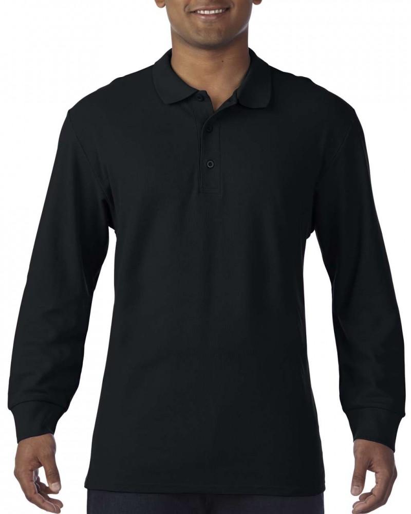 Gildan prémium férfi dupla piké hosszú ujjú póló 01c8437952