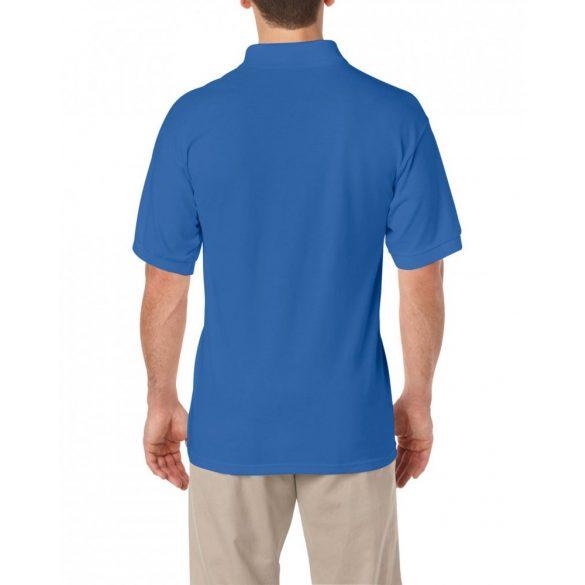 Gildan GI8800 galléros póló, 50/50,  kék