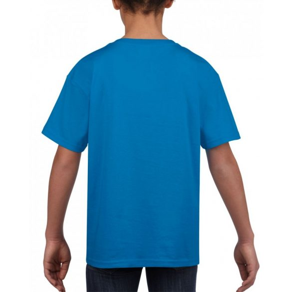 Softstyle Gildan gyerekpóló, zafír