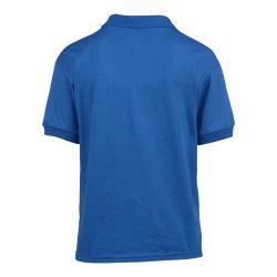 Gildan galléros gyerekpóló, kék
