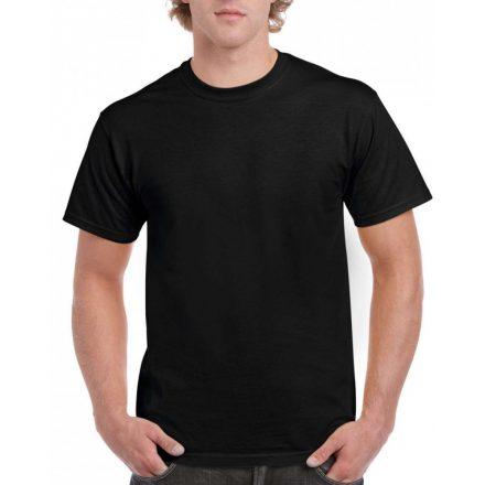 Gildan hammer pamut póló, fekete