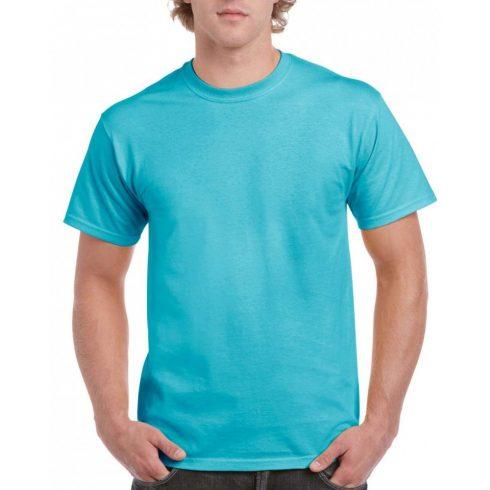 Gildan hammer pamut póló, Lagoon Blue