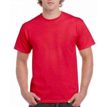 Gildan hammer pamut póló, Sport Scarlet Red