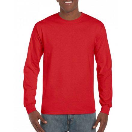 Gildan hammer hosszú ujjú póló, Sport Scarlet Red