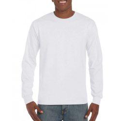 Gildan hammer hosszú ujjú póló, fehér