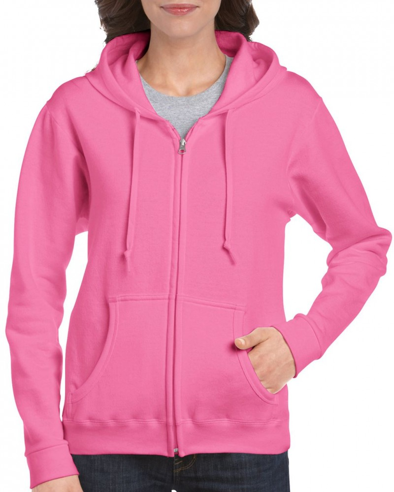 Gildan női cipzáras pulóver a502900a45