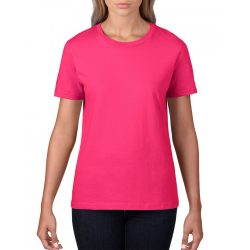 Gildan, női prémium póló, heliconia
