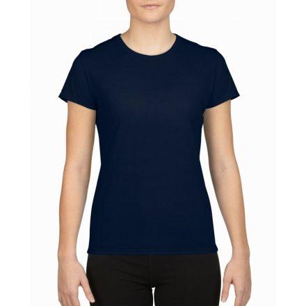 Gildan női sport póló, sötétkék