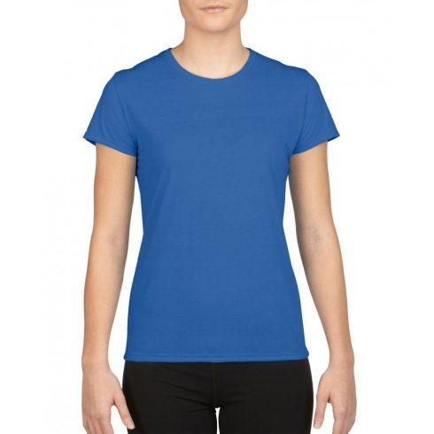 Gildan női sport póló, királykék