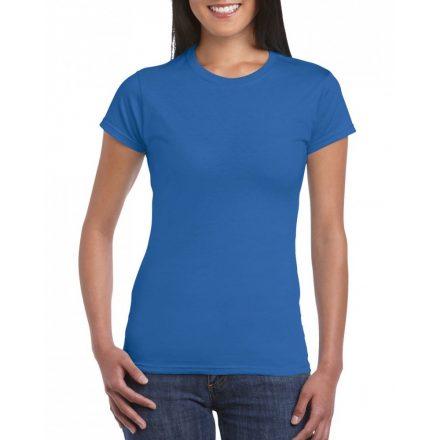 Softstyle Gildan női póló, királykék
