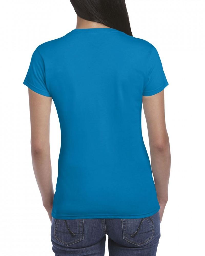 73273304c0 Softstyle Gildan női póló, zafír - poloplaza