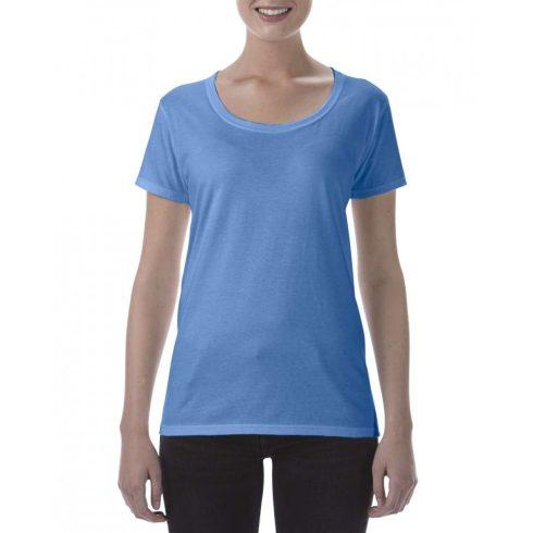 Lágy tapintásu Gildan női póló,  heather royal