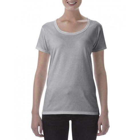 Lágy tapintásu Gildan női póló, sportszürke
