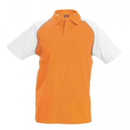 Kariban póló, narancs/fehér