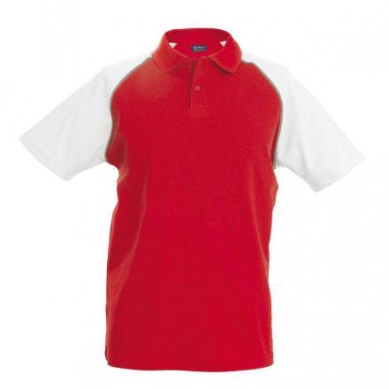 Kariban póló, piros/fehér