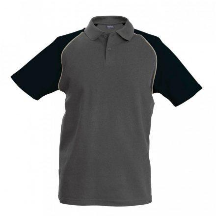 Kariban póló, szürke/fekete