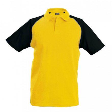 Kariban póló, sárga/fekete