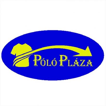 Kariban kevertszálas galléros póló, piros/világosszürke
