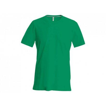 Kariban karcsusított pamut póló, fűzöld