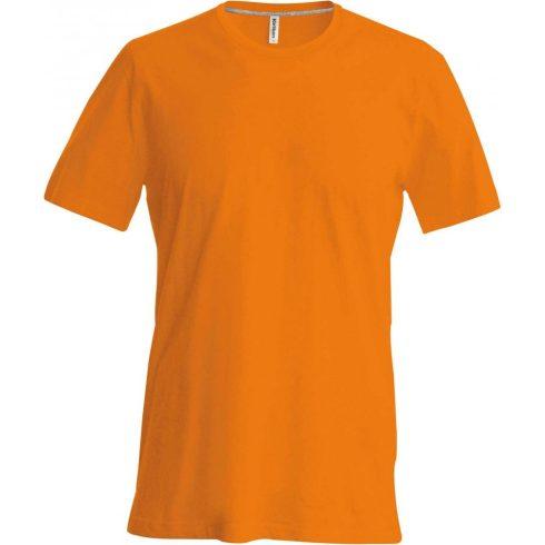 Kariban karcsusított pamut póló, narancs