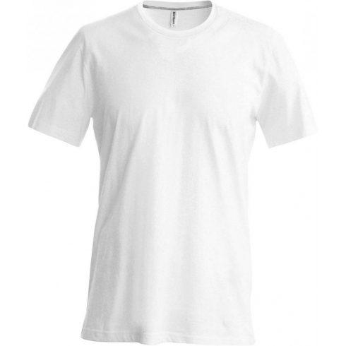 Kariban karcsusított pamut póló, fehér