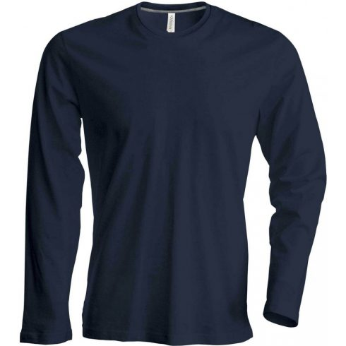 Kariban hosszúujjú karcsusított póló, sötétszürke