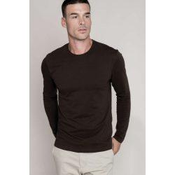 Kariban hosszúujjú karcsusított póló, light sand