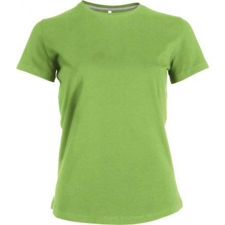 Kariban Női környakas póló, lime