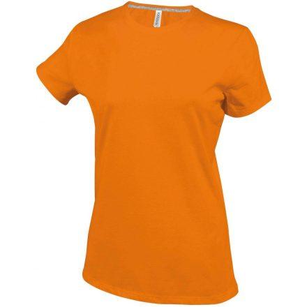Kariban Női környakas póló, narancs