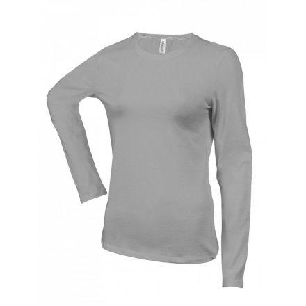 Kariban Női h.ujjú póló, Oxford Grey