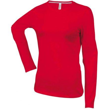 Kariban Női h.ujjú póló, Red