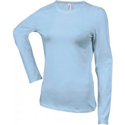 Kariban Női h.ujjú póló,Sky Blue
