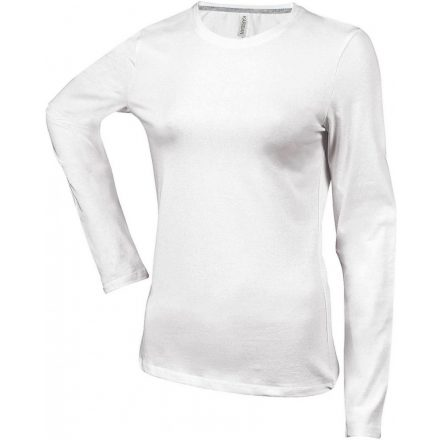 Kariban Női h.ujjú póló,White