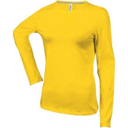 Kariban Női h.ujjú póló, Yellow