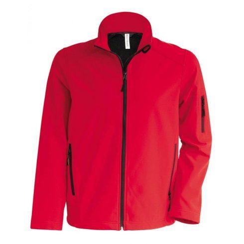 Kariban férfi SOFTSHELL dzseki, piros