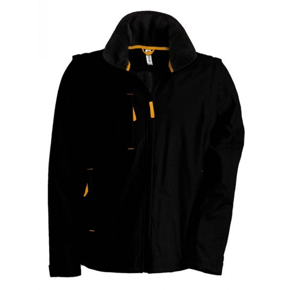 Kariban SCORE dzseki, fekete/narancs