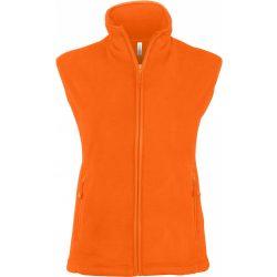 Kariban női mikropolár mellény,  fluo orange