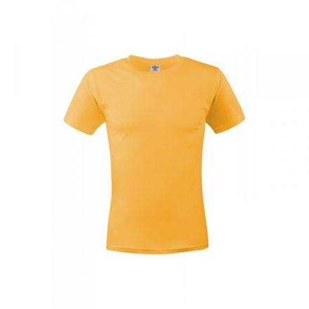 Keya MC180 unisex pamut póló, sárga-M
