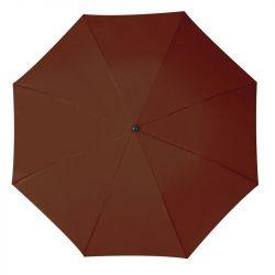 Összecsukható, teleszkópos esernyő, barna