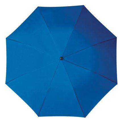 Összecsukható, teleszkópos esernyő, kék