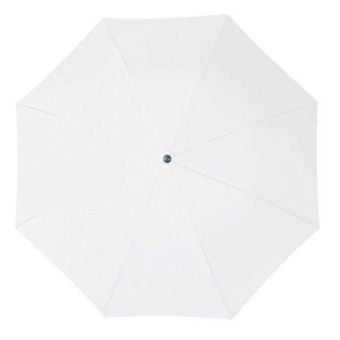 Összecsukható, teleszkópos esernyő, fehér