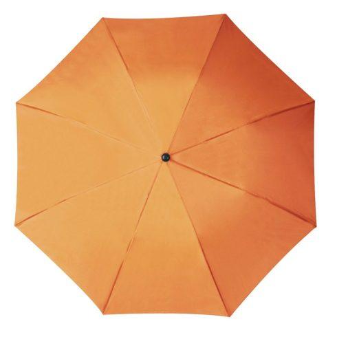 Összecsukható, teleszkópos esernyő, narancs