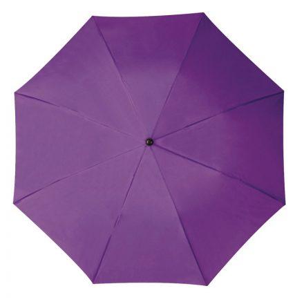 Összecsukható, teleszkópos esernyő, violet